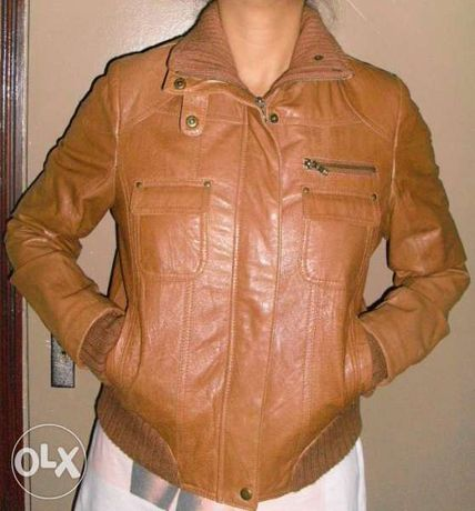 JSFN- дамско кожено яке