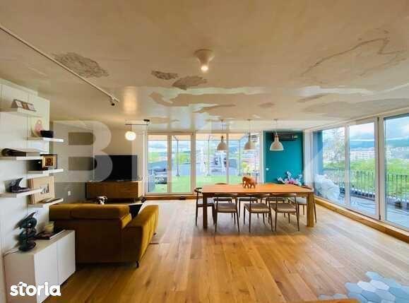 Penthouse exclusivist cu panorama deosebita! 130 mp utili, 270 mp...