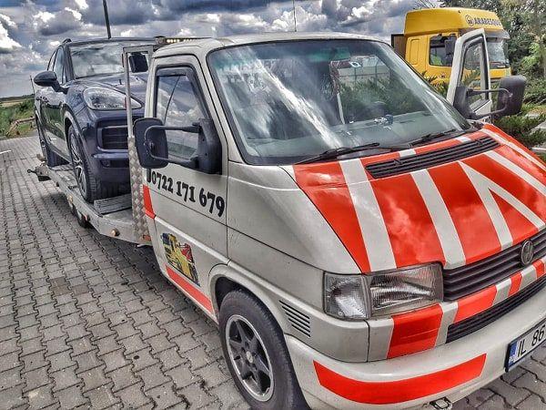 Tractari Auto/platforma auto/asistenta rutiera/Rampa/Non stop utilaje