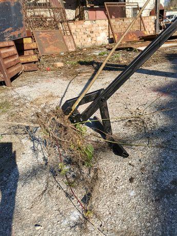 Уред за изкореняване на дръвчета и храсти