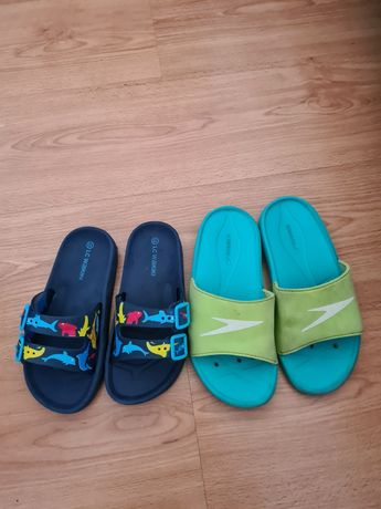 Сланцы, сандалии детские (ватники,  GEOX, speedo)
