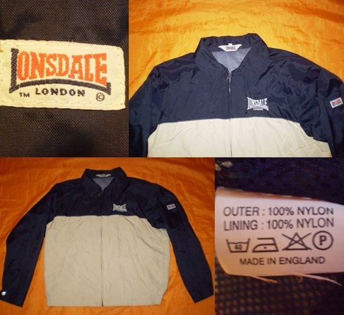 GEACA LONSDALE LONDON (made in england ) casual ultras suporter