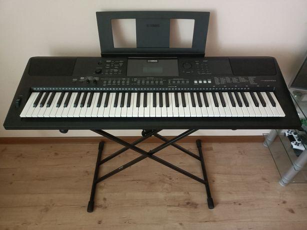 Продам синтезатор Yamaha PSR-EW410 и подставку
