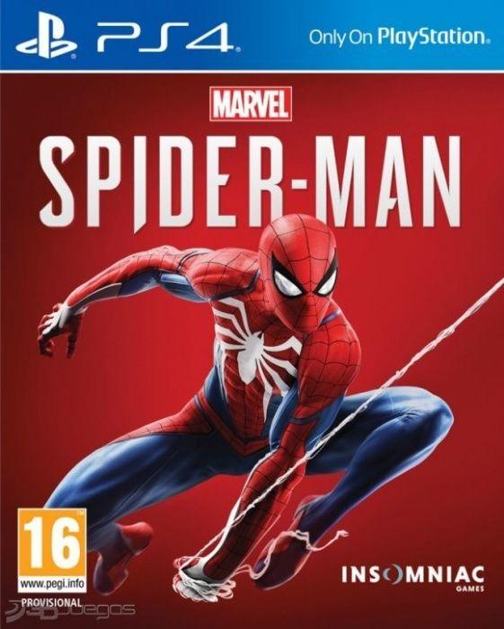Marvel Spider-Man PlayStation 4 PS4, русская версия, лицензионный диск Алматы - изображение 1
