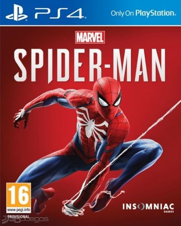 Marvel Spider-Man PlayStation 4 PS4, русская версия, лицензионный диск