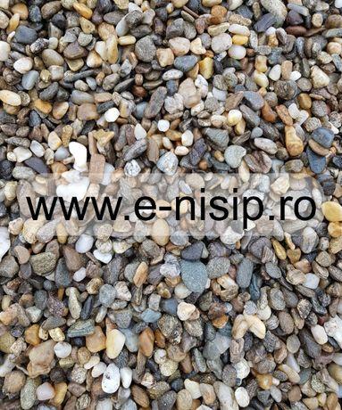 Pietris de rau diferite granulatii 4-8mm, 8-16mm, 16-31.5mm