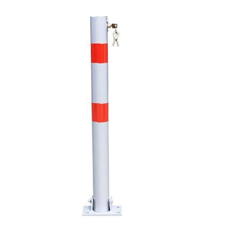 Blocator parcare tip stalp sectiune cerc cu 3 chei, 70 cm - EBN0611