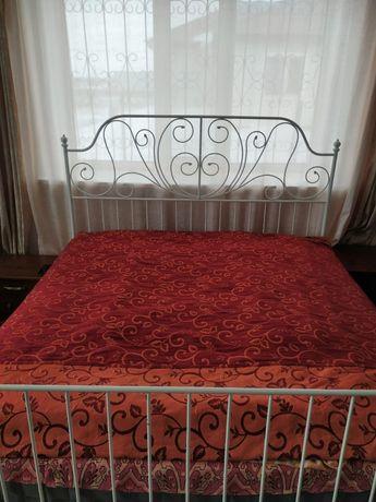 Продам б/у кровать от IKEA вместе с матрасом, в связи с переездом