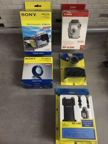 Sony и Canon обективи и водоустойчиви калъфи от Германия и зарядно