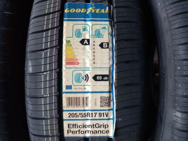 Anvelope de vara noi 205/55r17-91V Goodyear Efficient Grip Performance