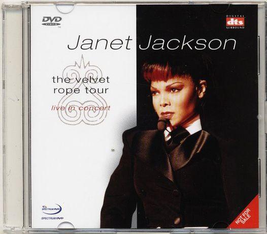 DVD. Janet Jackson – The Velvet Rope Tour - Live In Concert. 1998
