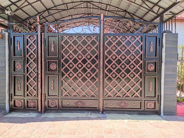 КРАСИМ ВАРОТЫ окна двери решетки навесы Варота красклеймиз