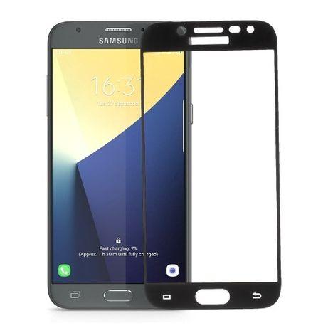 Folie de sticla 3D neagra compatibila cu Samsung Galaxy J5 2017