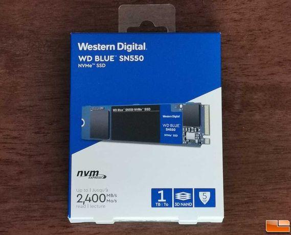 Sigilat! SSD intern M.2 NVMe WD Blue SN550 1TB Nou