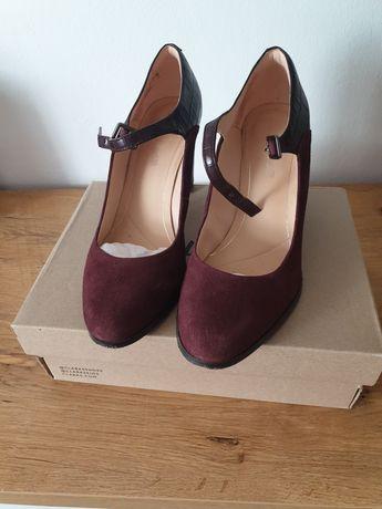 Pantofi piele Clarks 39,5
