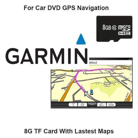 Продавам най новата и подробна карта за Гармин 2019 година