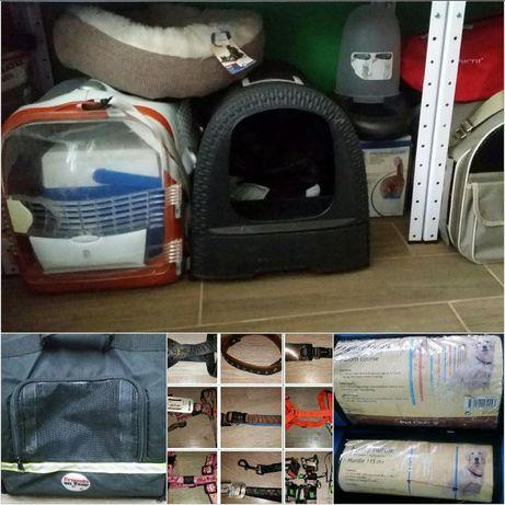 Каишки поводи нагръдници чанти и др.за кучета и котки
