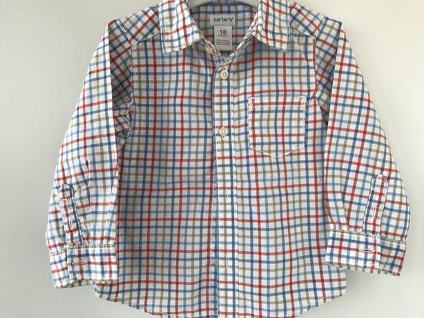 Vând cămașă baietei CARTER'S