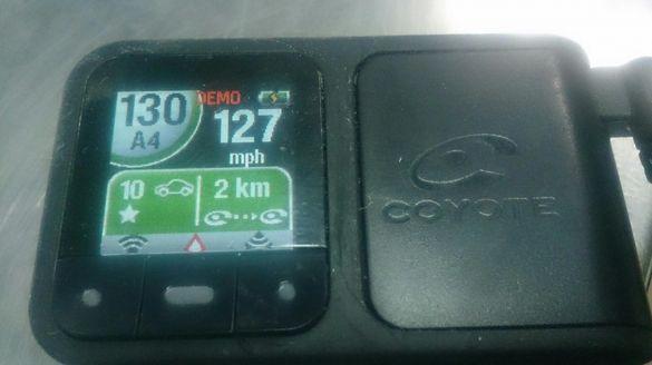 GPS спийд камера
