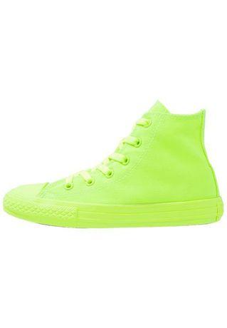 Converse neon Verde 33, 22 cm interior
