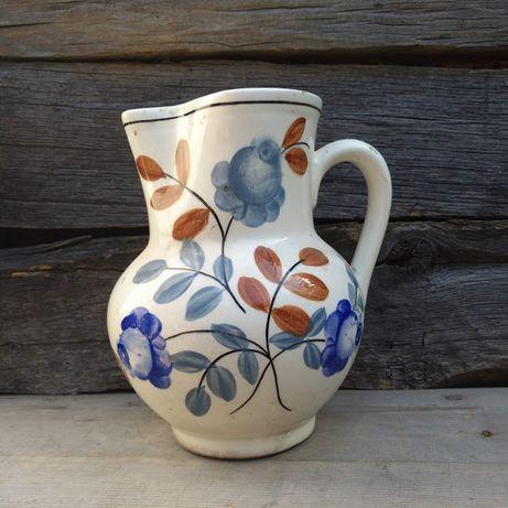 carafa mare cu flori albastre