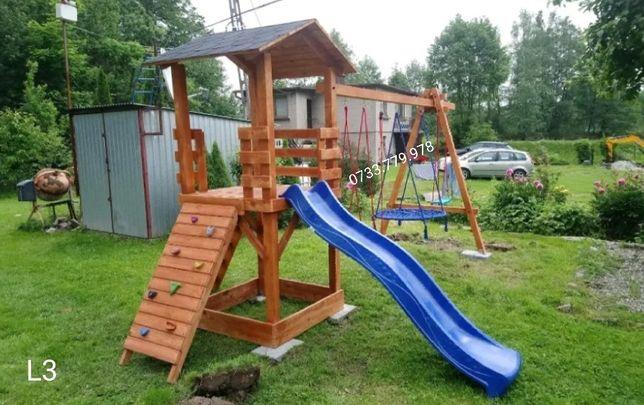 Căsuța  lemn parc loc joaca  pentru copii