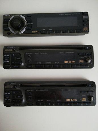 Față pentru casetofon auto Sony 50Wx4 CDX-L450 și 35Wx4 CDX-4160RDS