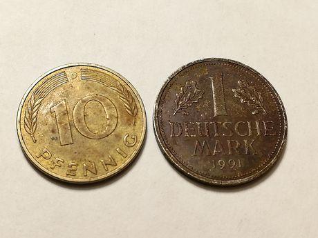 Немецкая монета коллекции