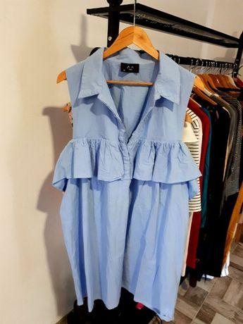 Bluza lunga AX Paris, marime mare, 20 UK/48 EU
