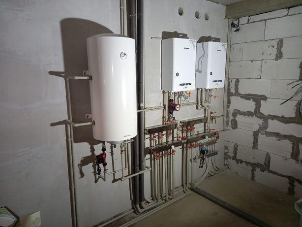 Отопление|Установка котлов|Теплый пол|Водопровод|Установка радиаторов