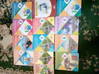 Кітаптар 6 сынып оқушыларына, оригинал, Атамұра баспасы