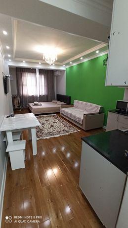 Сдам 1 комнатную квартиру посуточно в ЖК Молодежный Шевченко Сейфуллин