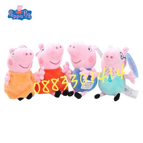 Пепа Пиг цялото семейство Peppa Pig плюшени