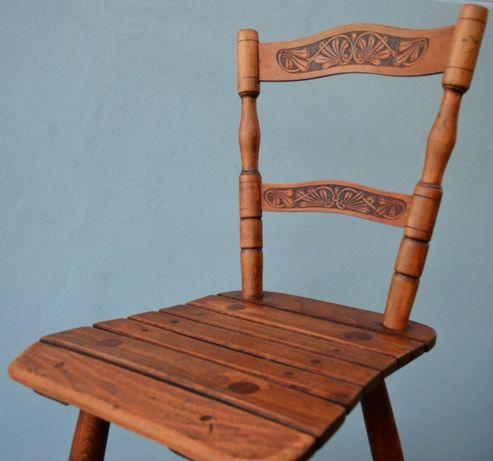 Lot de doua scaune Tubinger cu spatar Art Nouveau - CIRCA 1925