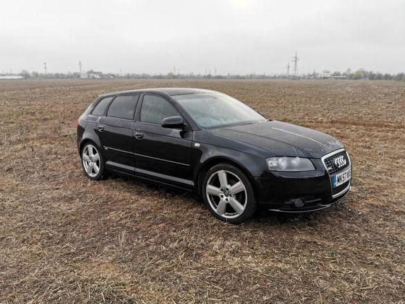 Audi a3 2.0tdi sport back на части / ауди а3 2.0 тди 8п на части