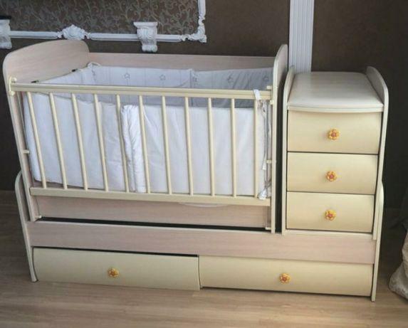 Манеж детский (кроватка)