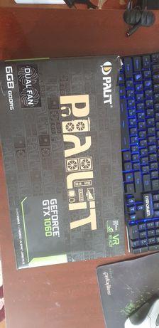 Продам видеокарту GTX 1060 6gb от Palit
