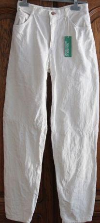 Pantaloni BENETTON, noi cu eticheta