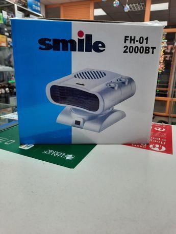 Обогреватель воздушный smile FH01 есть kaspi red, гарания 3 месяца