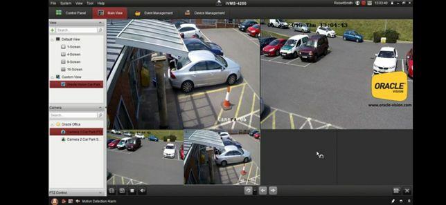 Montez,pun in functiune camere de supraveghere video ,alarma