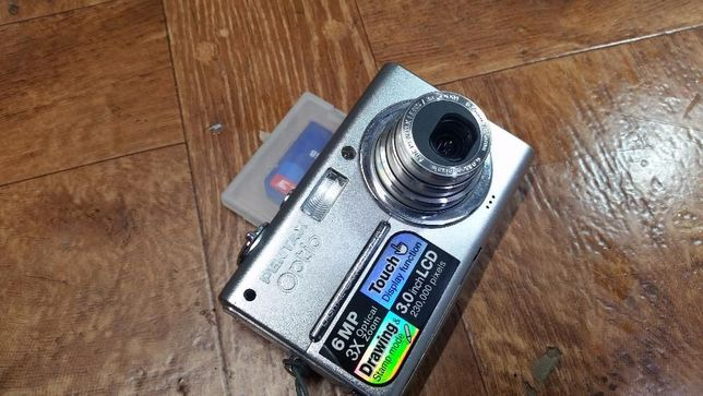 Vand aparat foto PENTAX Optio T10 / Touchscreen