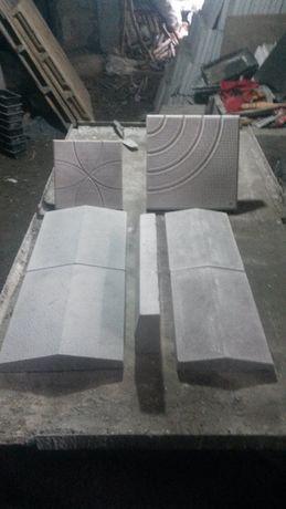 Производство на бетонови тротоарни-дворни плочки, и градински бордюри
