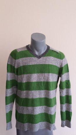 Energie Wool Style Clash Size L Мъжки Вълнен Пуловер!