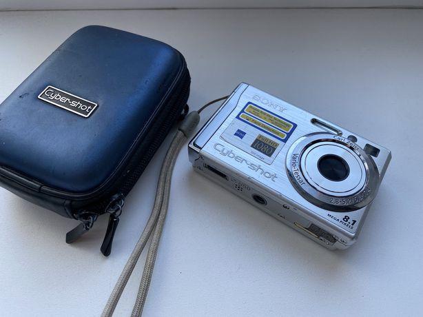 Фотоаппарат Sony Cyber-shot 8,1 мегапикселей