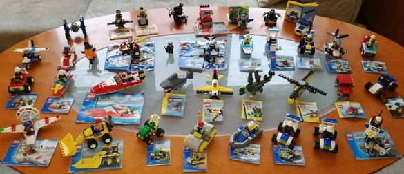 Голяма колекция LEGO - Оригинални Лего комплекти и фигурки