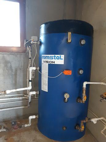 Acumulator agent termic încălzire izolat 500