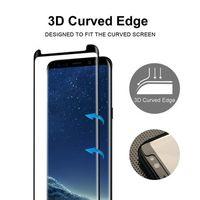 Folie Sticla Samsung S8 Plus Case Friendly MONTAJ GRATUIT