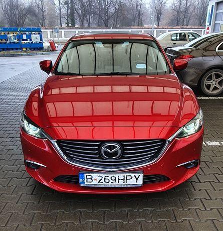 Mazda 6 2017 DC/175/AT/Revolution TOP/SD KW/129 SOUL ROT METALLIC
