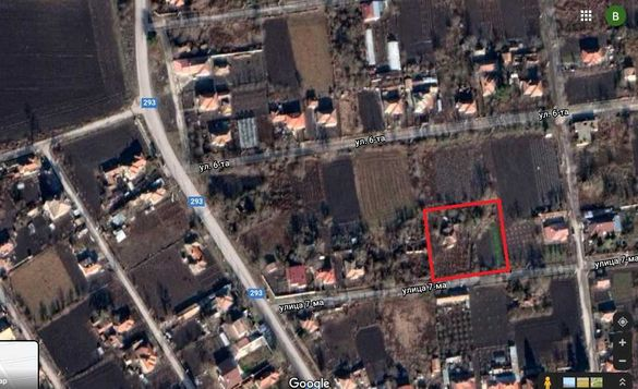 ДВОРНО МЯСТО на площ 2120 кв.м. село ПАСКАЛЕВО, обл. Добрич