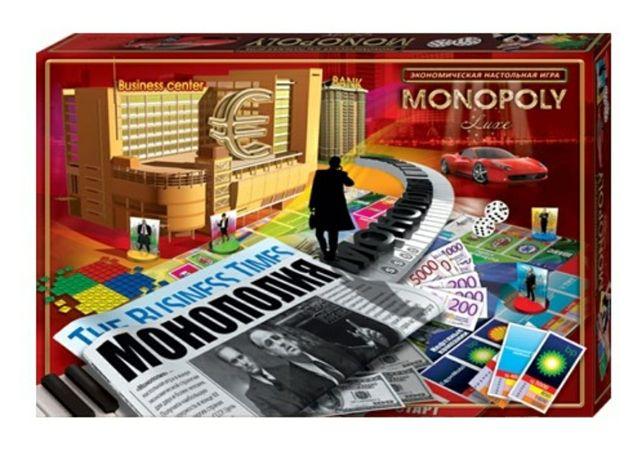 Монополия Большой бизнес НАСТОЛЬНАЯ ИГРА